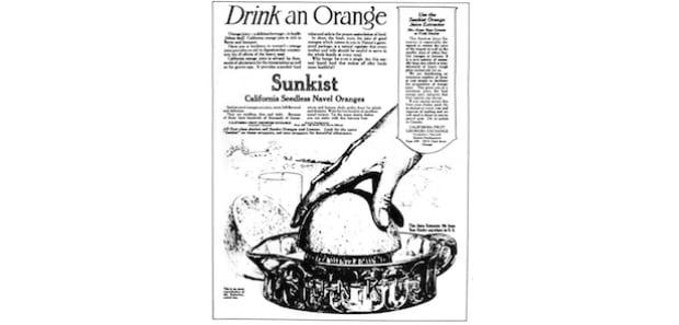 Drink an orange