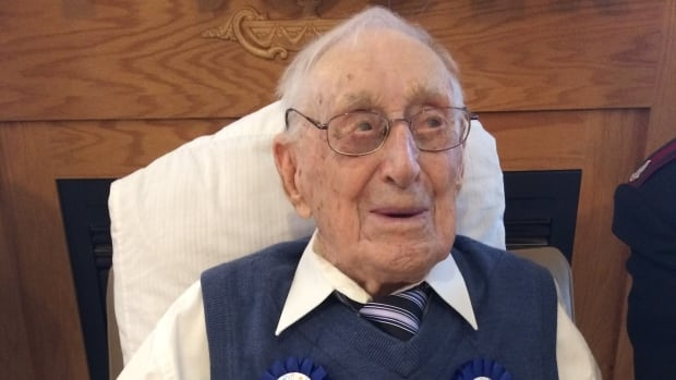 George Monk was born May 17, 1911. He says his first memories go back to his faith in the Salvation Army Church.