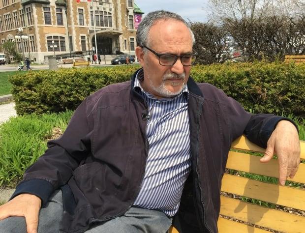 Mohamed Labidi, new mosque president (2017)  vp during shooting
