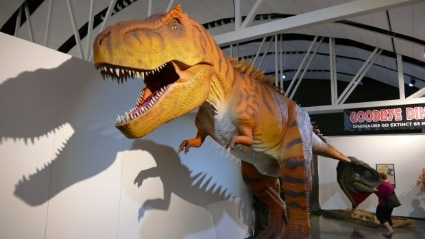 The World Giant Dinosaurs exhibit runs May 19 to September 4 at the Manitoba Museum.