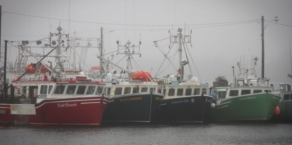 Shag Harbour fishing boats
