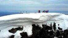 Mount Strachan cornice