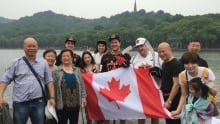 The three Canadians are bringing our national game to Hangzhou.