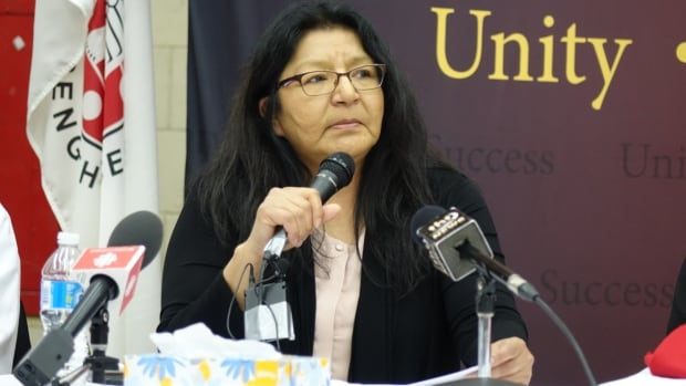 'That's a lot of trauma for a child,' says Nishnawbe Aski Nation Deputy Grand Chief Anna Betty Achneepineskum of the moves Indigenous children in the child welfare are forced to make.
