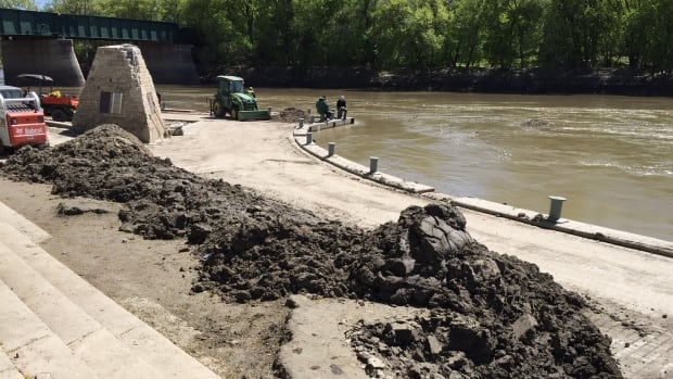 A portion of the Assiniboine Riverwalk will be open on Saturday.