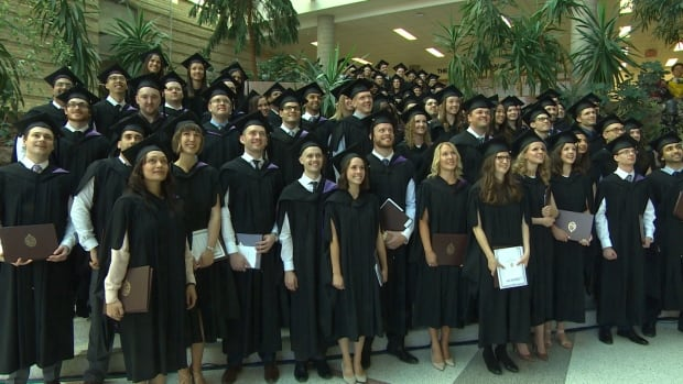 The class of 2017 has 113 graduates, and 65 per cent of them are staying in Manitoba for their residencies.