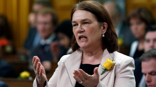 Health Minister Jane Philipott says the bill will improve the government's ability to offer harm-reduction services.