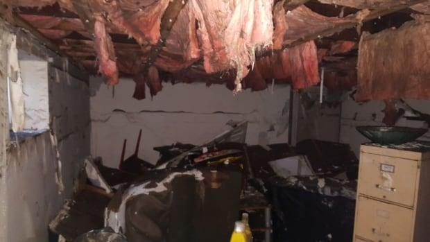 ruined basement ile bizard