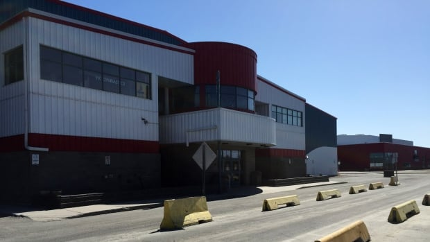 The Yellowknife Multiplex is one of five facilities the city is hoping can be heated by a wood pellet system. The total annual savings across the five buildings could amount to $140,000.