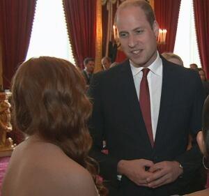 Prince William and Faith Dickinson