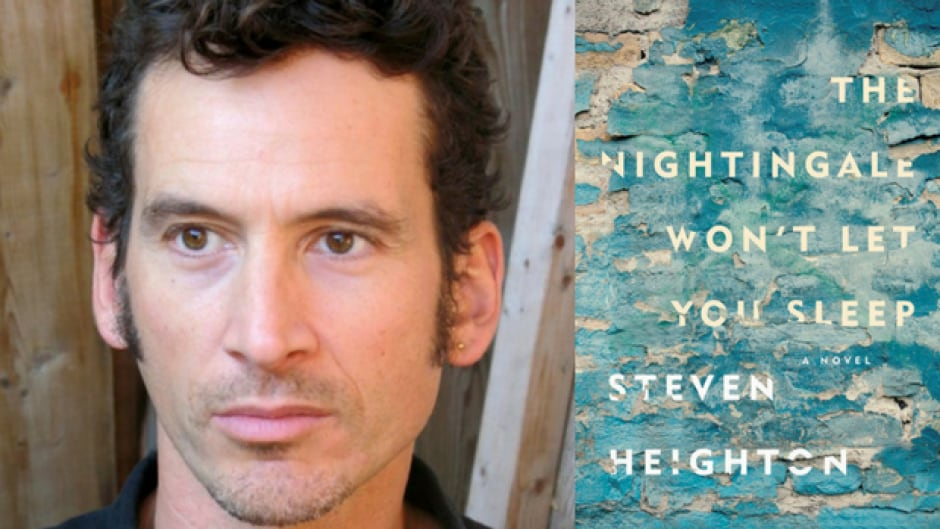 Steven Heighton won the 2016 Governor General's Literary Award for poetry.