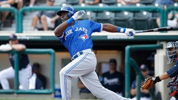Blue Jays call up top prospect Anthony Alford