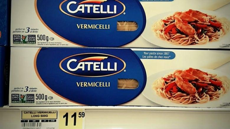 Pasta prices in Nunavut