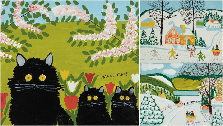 The hollywood effect maud lewis and other painters who for Real art for sale