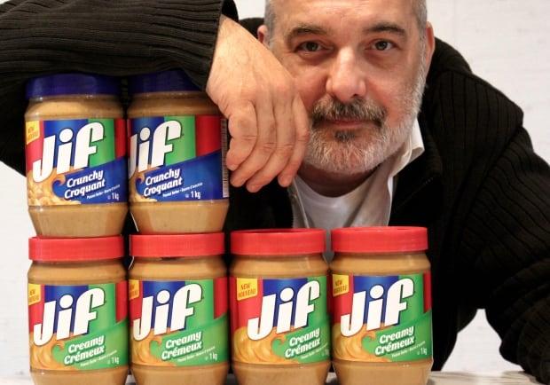 Jif Yves Asselin Montreal peanut butter