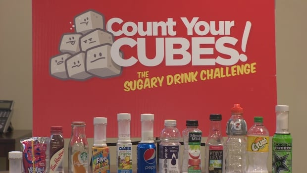 The Newfoundland and Labrador chapter of the Canadian Heart and Stroke Foundation is challenging people to drink less than 12 teaspoons of sugar a day.