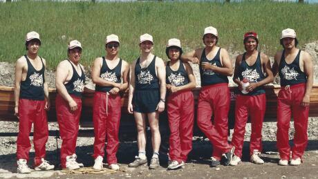 michael mcleod canoe race 1989