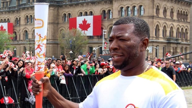 Glenroy Gilbert won a gold medal for Canada in the men's 4x100 metre relay in 1996 at the Atlanta Olympics, and returned to coach the team to a bronze medal in Rio. Now, he is going to become the head coach for Canada at the world track and field championships.