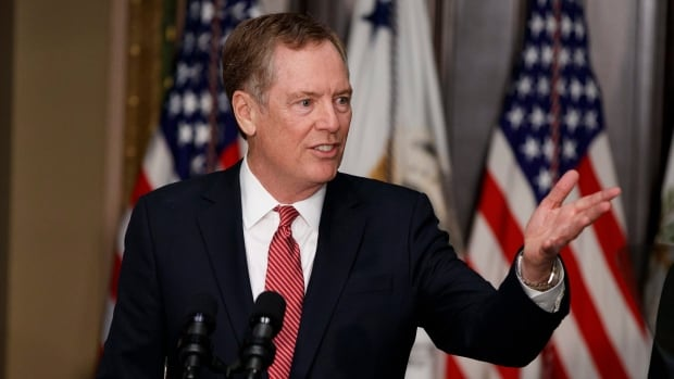 """U.S. Trade Representative Robert Lighthizer says that while he would like to complete the renegotiation of NAFTA quickly he is """"not going to have a bad agreement to save time."""""""