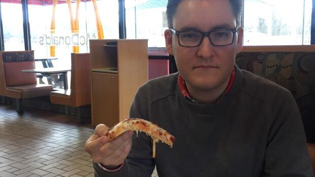 Brian at McDonald's