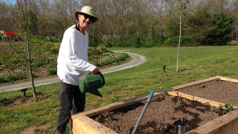 Growing \'hope\' in new community garden in Lower Sackville | CBC News