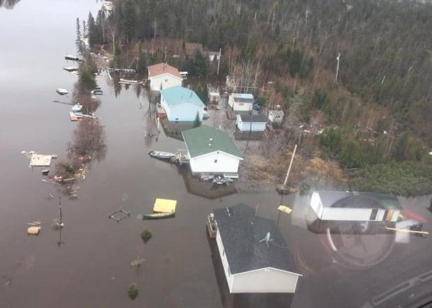 Mud Lake flooding