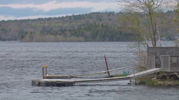 Oil spilled into Lake Fletcher in Fall River overnight Thursday into Friday morning.