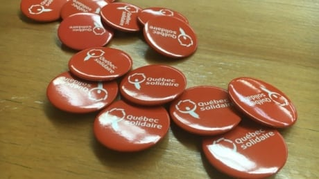 Quebec solidaire buttons
