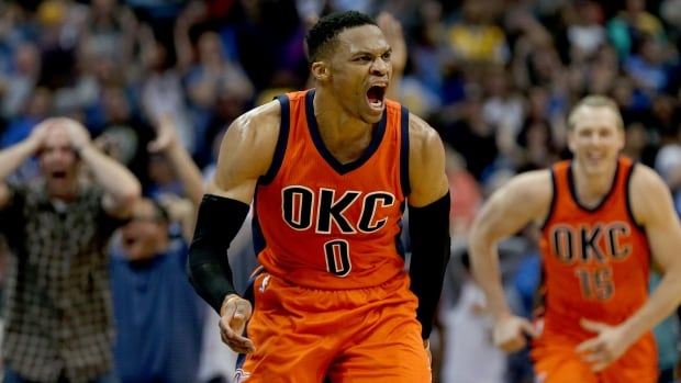Russell Westbrook broke Oscar Robertson's single-season triple-double record this past season.