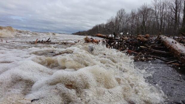 Quebec officials say that 133 homes have been flooded in the municipalities of Saint-Félicien, Saint-Gédeon and Métabetchouan-Lac-à-la-Croix.