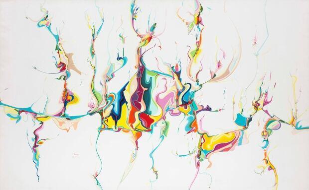Untitled, 1986. Acrylic on canvas.