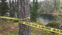 Police tape is up in Ontario's Rushing River Provincial Park, where a 9-year-old boy died. Police s