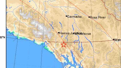 Yukon-Earthquake