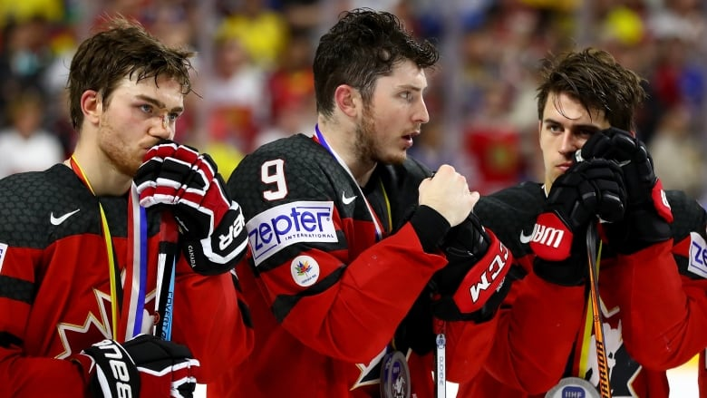 f90fd2ec352 Canada suffered another shootout loss in a major international tournament  dropping the 2017 IIHF Ice Hockey World Championship gold medal game to  Sweden on ...