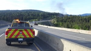 Coquihalla Highway remains closed in both directions south of Merritt