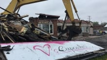 V's Cupcakes destroyed Manotick fire