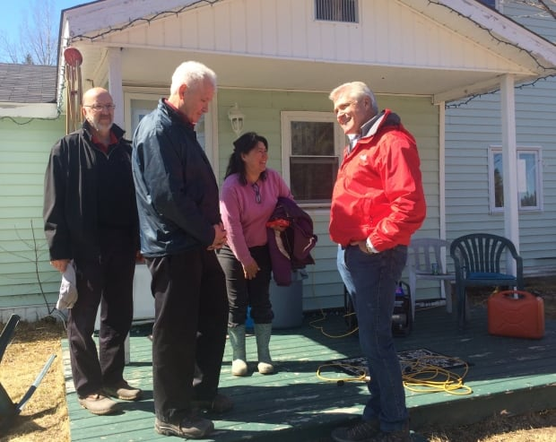 Premier Dwight Ball Mud lake residents