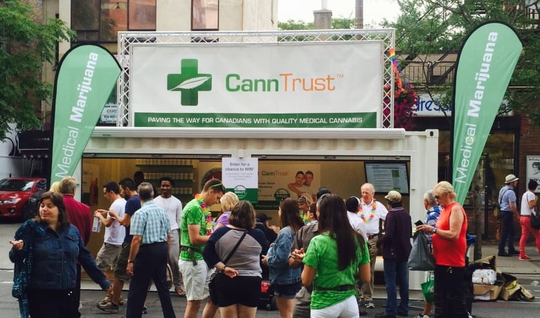 Tragically Hip goes into partnership with medical marijuana upstart