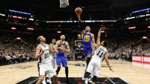 Perfect Warriors sweep Spurs to advance to NBA Finals