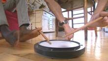 Drumming feet