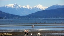 Victoria Day at Spanish Banks, Vancouver