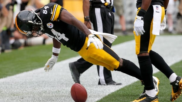 The NFL competition committee has tweaked its rules on touchdown celebrations, and players like Steelers receiver Antonio Brown are now less likely to be penalized.