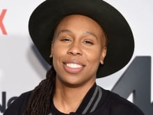 Actress and producer Lena Waithe with Tom Power in the q studio in Toronto, Ont.