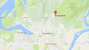 Coquitlam Fire Rescue responding after 10-year-old boy falls at Crystal Falls, B.C.