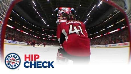 Hip Check: Craig Anderson's big night sends Ottawa Senators to 7th heaven