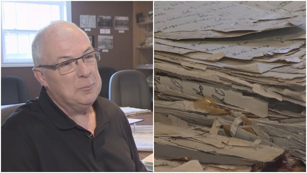 David Harvey, a former captain at Her Majesty's Penitentiary, hopes old documents on the prison's history can be preserved for generations to come.