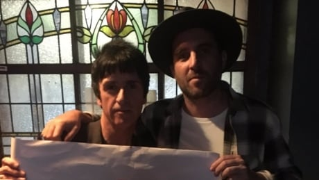 Jimmy Shaw and Johnny Marr