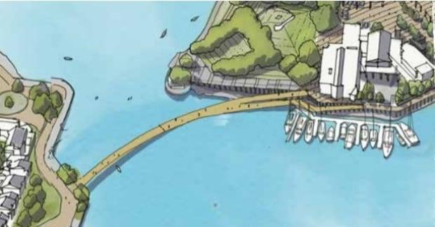 Granville Island bike/ped bridge
