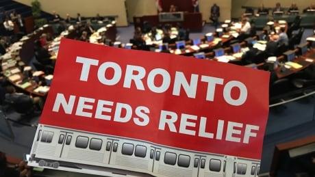 Toronto Mayor John Tory Flyer 'Toronto Needs Relief'