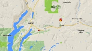 Evacuation alert issued for wildfire near Lumby